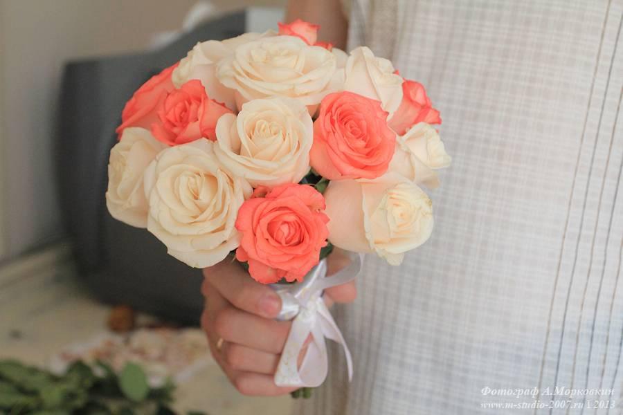 Сделать букет невесты из роз своими руками 99