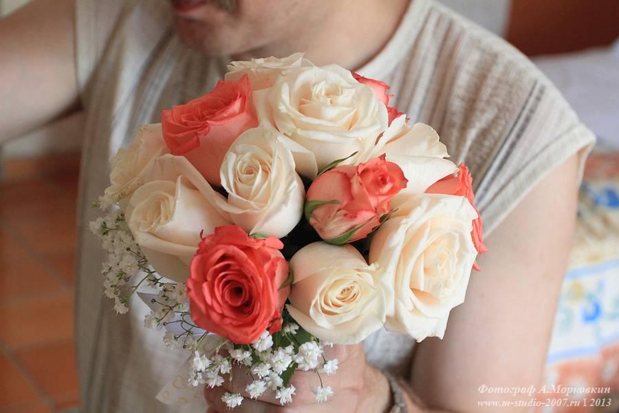 Сделать букет для невесты своими руками 34