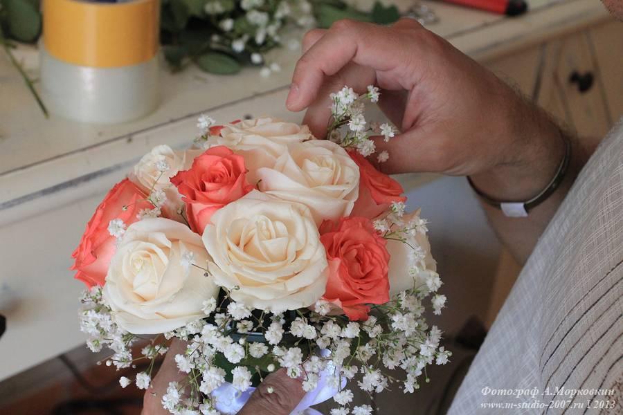 Сделать букет для невесты своими руками 17